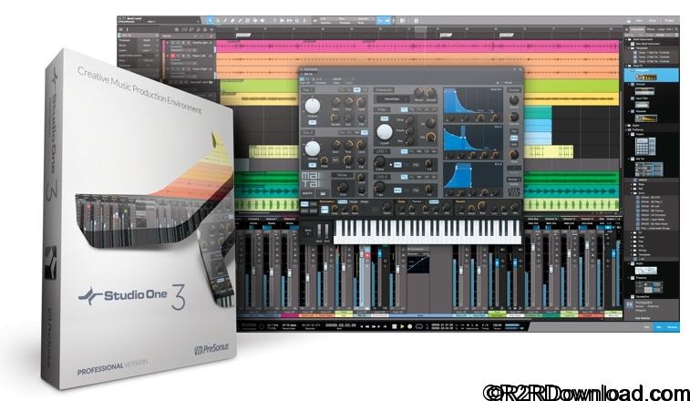PreSonus Studio One 3.5 Professional Free Download [WIN-OSX]