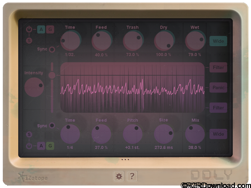 iZotope DDLY Dynamic Delay Free Download [MAC-OSX]