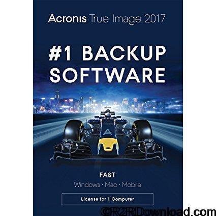 Acronis True Image 2017 Free Download