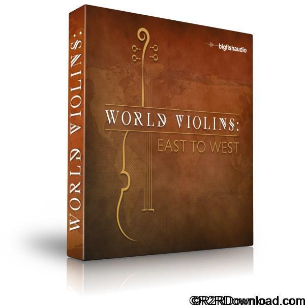 Big Fish Audio World Violins East to West KONTAKT