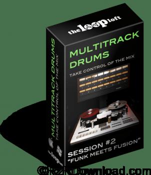 The Loop Loft Funk Meets Fusion Multitrack Drums Session 2 WAV