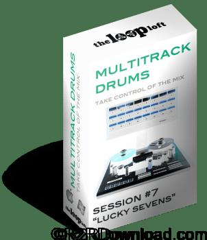 The Loop Loft Lucky Sevens Multitrack Drums Session 7 WAV