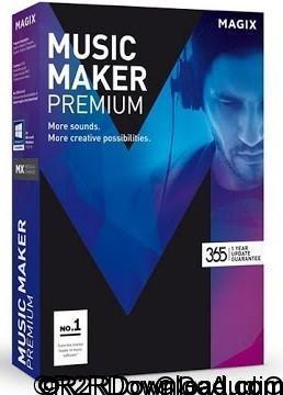 MAGIX Music Maker 2017 Premium 24.1.5.119
