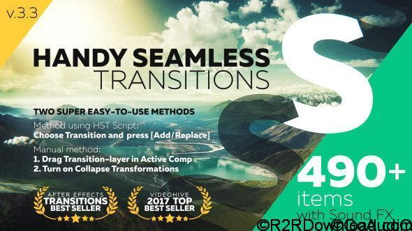 Handy Seamless Transitions Pack & Script v3.3 Free Download