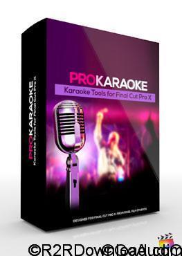 ProKaraoke Karaoke Tools for FCPX Free Download (Mac O SX)