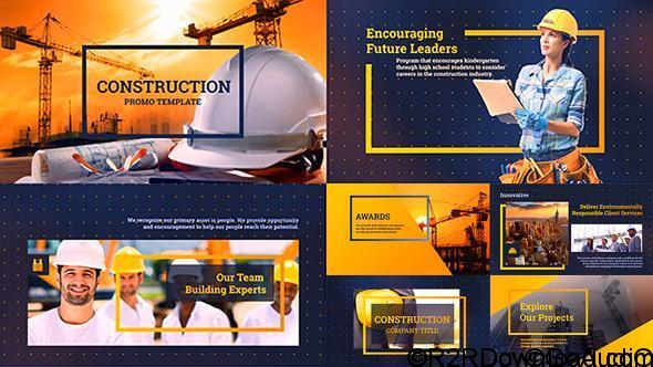 VideoHive Construction Services Free Download