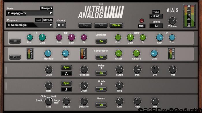 Ultra Analog VA-2.1.3 Free Download (WIN-OSX)
