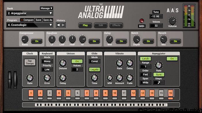 Applied Acoustics Systems Ultra Analog VA-2 v2.1.4 (WIN-OSX)
