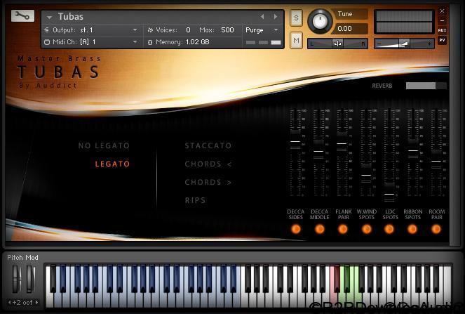 Auddict Master Brass Tubas v1.1 KONTAKT