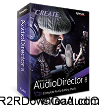 CyberLink AudioDirector 8 Ultra Free Download