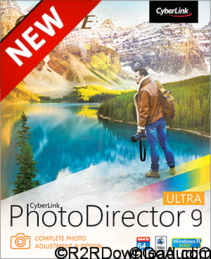 CyberLink PhotoDirector 9 Ultra Free Download