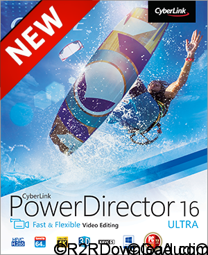 CyberLink PowerDirector 16 Ultimate Free Download