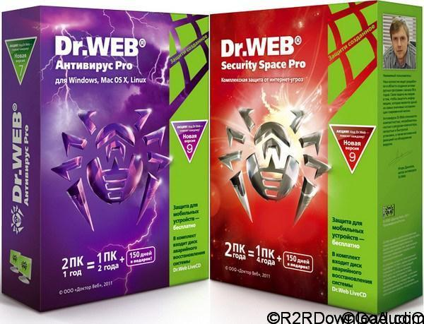 Dr Web Security Space and AntiVirus 11 Free Download