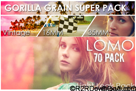 Gorilla Grain 16MM 35MM and Vintage Grain Bundle Free Download (WIN-OSX)