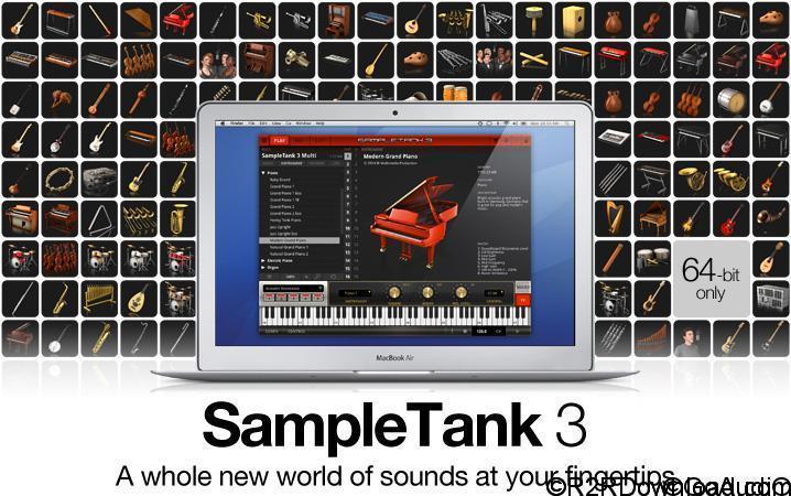 IK Multimedia Sample Tank 3 v3.7.0 Free Download (WIN-OSX)