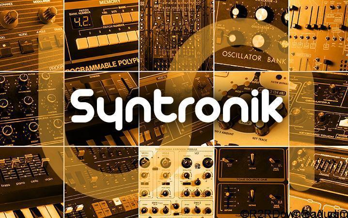 IK Multimedia Syntronik-Sound Content HYBRID