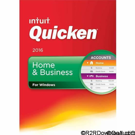 Intuit Quicken Home & Business 2016 R7 25.1.7.7