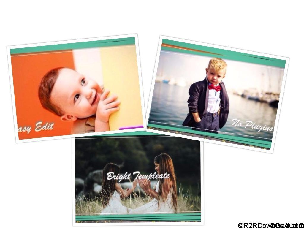 KIDS GALLERY After Effect Free Download