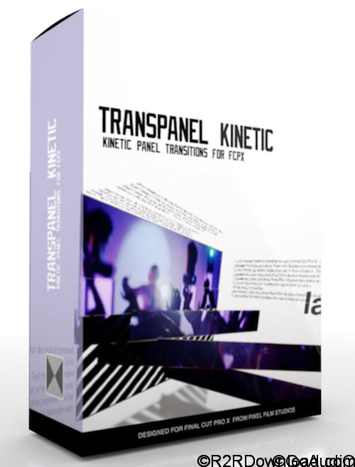 Kinetic Panel Transitions For FCPX TransPanel Kinetic Free Download