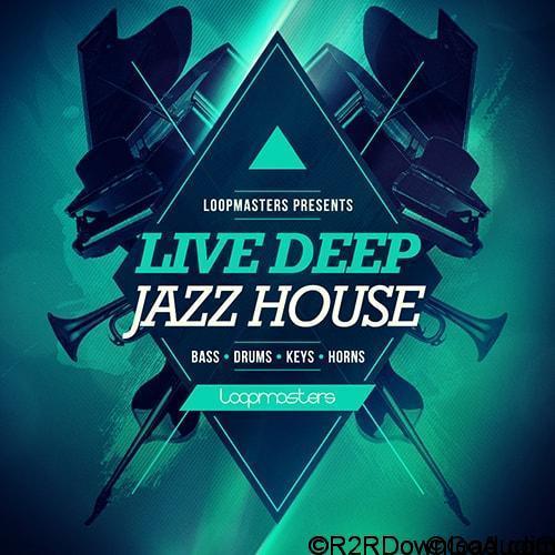 Loopmasters Live Deep Jazz House WAV REX2