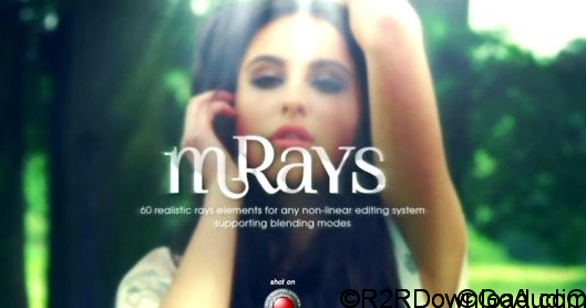 MotionVFX – mRays 2K – 60 realistic rays elements for Final Cut Pro X (macOS)
