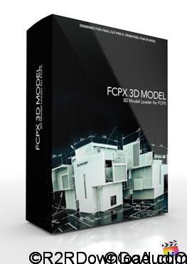 Pixel Film Studios – FCPX 3D Model for Final Cut Pro X (macOS)