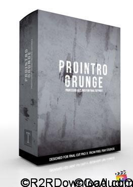 Pixel Film Studios ProIntro Grunge for Final Cut Pro X Free Download (Mac OS X)