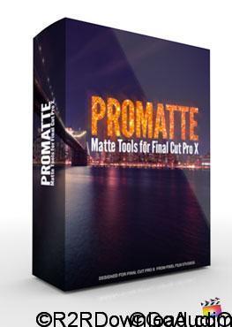 Pixel Film Studios ProMatte Plugin For Final Cut Pro X Free Download