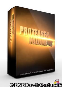Pixel Film Studios ProTeaser Volume 5 Trailers for Final Cut Pro X (Mac OS X)
