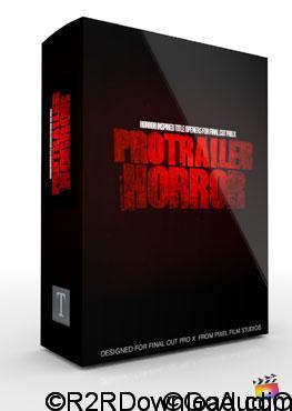 Pixel Film Studios ProTrailer Horror for Final Cut Pro X Free Download