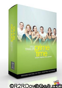 Pixel Film Studios ProTrailer Prime Time for Final Cut Pro X Free Download (Mac OS X)