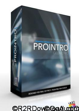 ProIntro Geometric Introduction Titles for Final Cut Pro X Free Download
