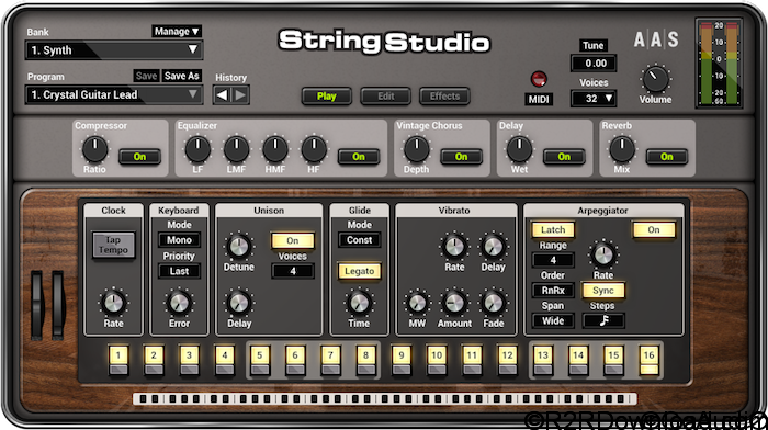 STRING STUDIO VS-2 v2.0.5 Free Download (WIN-OSX)