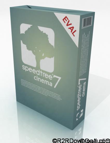 SpeedTree Cinema v7.1.1 Free Download (WIN-OSX)