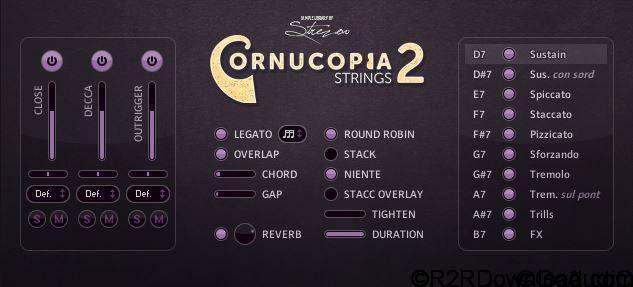 Strezov Sampling CORNUCOPIA String Ensembles 2 KONTAKT