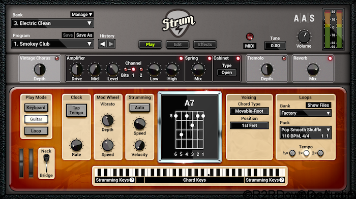 Strum GS-2 v2.1.3 Free Download (WIN-OSX)