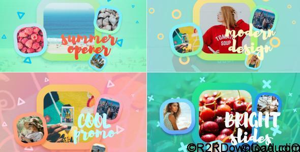VIDEOHIVE BRIGHT SUMMER SLIDESHOW FREE DOWNLOAD