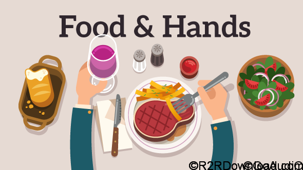 VIDEOHIVE FOOD & HANDS EXPLAINER FREE DOWNLOAD