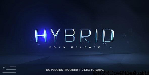 VIDEOHIVE HYBRID LOGO REVEAL Free Download