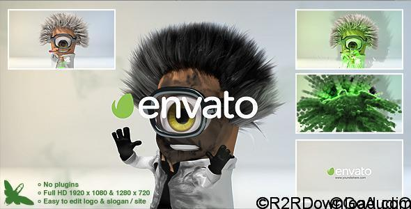 VIDEOHIVE MAD SCIENTIST LOGO FREE DOWNLOAD