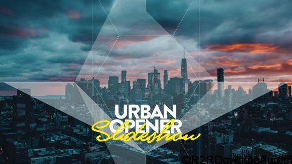 VideoHive Urban Opener I Slideshow Free Download