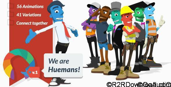 VIDEOHIVE We are Huemans FREE DOWNLOAD