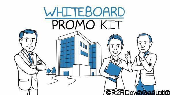 VIDEOHIVE Whiteboard Promo Kit Free Download