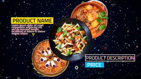 VideoHive 4K Restaurant Product Promo Free Download