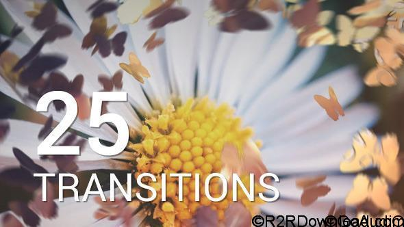 VideoHive Butterflies Transitions 12016750 Free Download