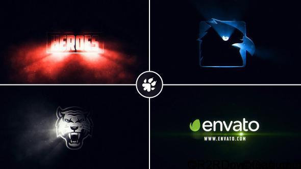 VideoHive Cinematic Light Rays Logo Free Download