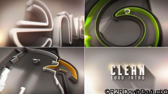 VideoHive Clean Logo Intro Free Download