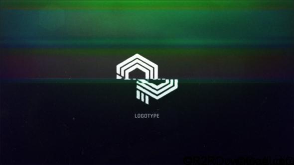 VideoHive Glitch Logo Intro 19384167 Free Download