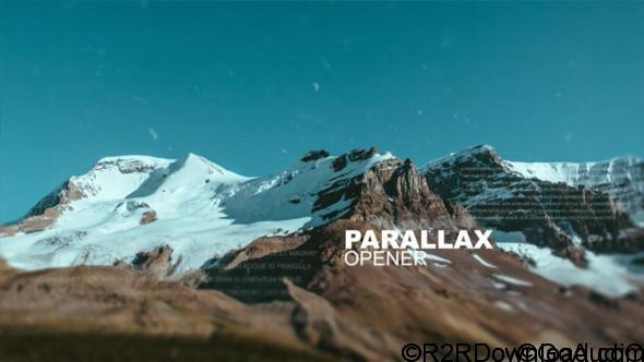 VideoHive Parallax Opener 16701534 Free Download