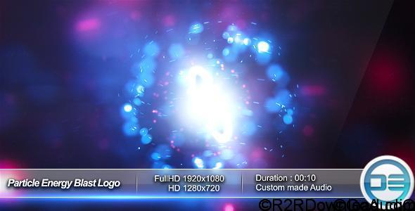 VideoHive Particle Energy Blast Logo Reveal Free Download